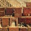 Uzbekistan rugs and carpets in Bukhara Uzbekistan